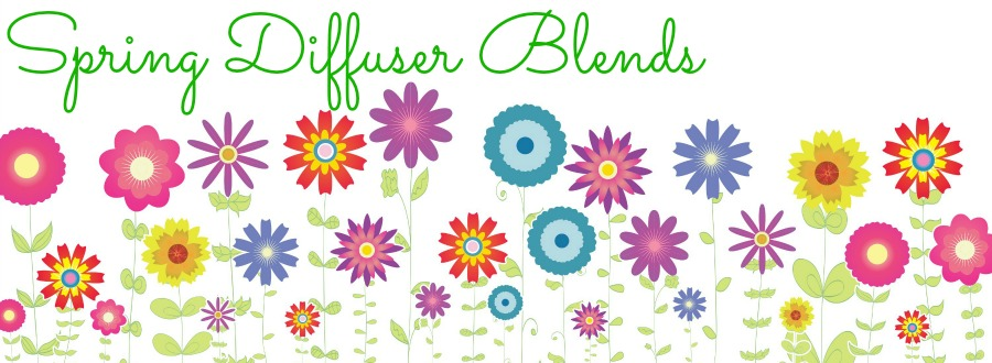 making spring diffuser blends with doTERRA essential oils