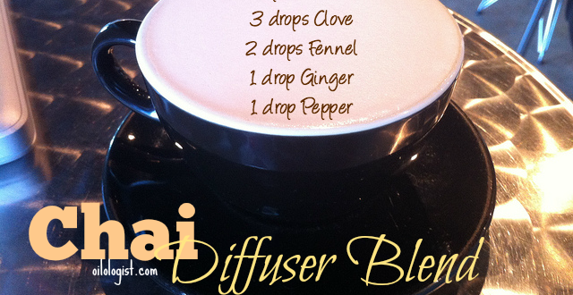 diffuser blend coffee shop chai